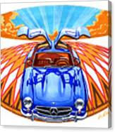 Mercedes-benz 300 Slk Canvas Print