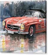 Mercedes Benz 300sl Canvas Print