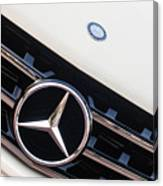 Mercedes-benz Emblem - Grille Logo -0030c Canvas Print