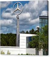 Mercedes - Benz Plant Canvas Print