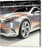 Mercedes Benz Style Coupe Concept Number 2 Canvas Print