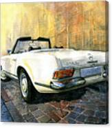 Mercedes Benz W113 280 Sl Pagoda Canvas Print