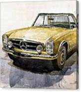 Mercedes Benz W113 Pagoda Canvas Print