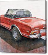 Mercedes Benz W113 Sl280 Canvas Print