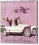 Mercedes Daimler C. 1910 Canvas Print