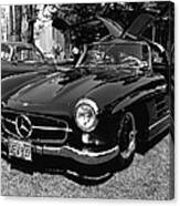 Mercedes Gull Wing Coupe Canvas Print