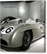 Mercedes Racer Canvas Print