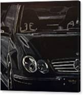 Mercedes Sl  Canvas Print