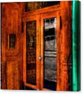 Merchants Cafe Doors Canvas Print