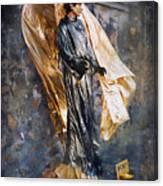 Merci Sacre Coeur Paris France Canvas Print