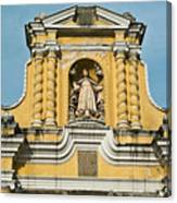 Mercid Church Antigua Guatemala Canvas Print