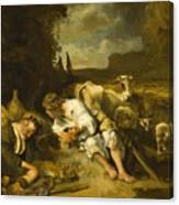 Mercury And Argus 1647 Canvas Print