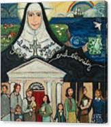 Mercy Foundress Catherine Mcauley Canvas Print