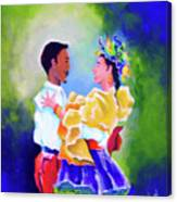 Merengue Rythm Canvas Print