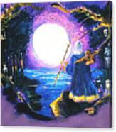 Merlin's Moon Canvas Print