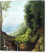 Merlin's Pool Canvas Print