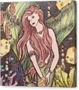 Mermaid Magic Canvas Print