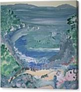 Mermaid Cove Canvas Print