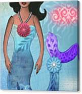 Mermaid Dream 1 Canvas Print