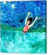 Mermaid Metamorphosis Canvas Print