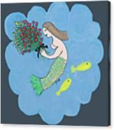 Mermaid Canvas Print