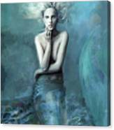 Mermaid Water Spirit Canvas Print