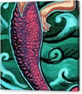 Mermaid With Pearl Canvas Print