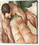 Merman Rescue Canvas Print
