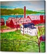 Merrimac Hat Shop Canvas Print