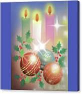 Merry Christmas 1 Canvas Print