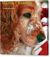 Merry Christmas Art 29 Canvas Print