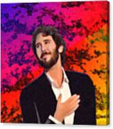 Merry Christmas Josh Groban Canvas Print