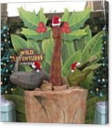 Merry Christmas - Wild Adventures Canvas Print
