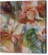 Merry Magnolias Canvas Print