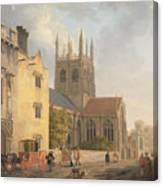Merton College - Oxford Canvas Print