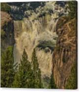 Mesa Falls In Summer Canvas Print