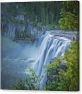 Mesa Falls - Yellowstone Canvas Print