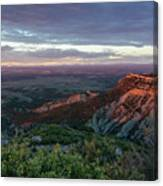 Mesa Verde Soft Light Canvas Print