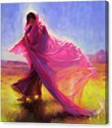 Mesa Walk Canvas Print