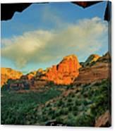 Mescal Mountain 04-012 Canvas Print