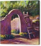Mesilla Archway Canvas Print