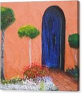 Mesilla Door Canvas Print
