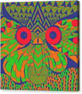 Mesmerizing Owl Canvas Print