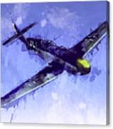Messerschmitt Bf 109 Canvas Print