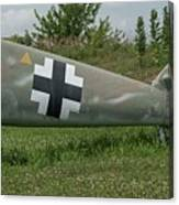 Messerschmitt Bf109 - 3 Canvas Print