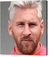 Messi 2016 Canvas Print