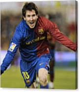Messi 1 Canvas Print