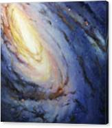 Messier 66 Canvas Print