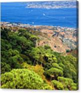 Messina Strait - Italy Canvas Print