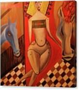 Mestango Canvas Print